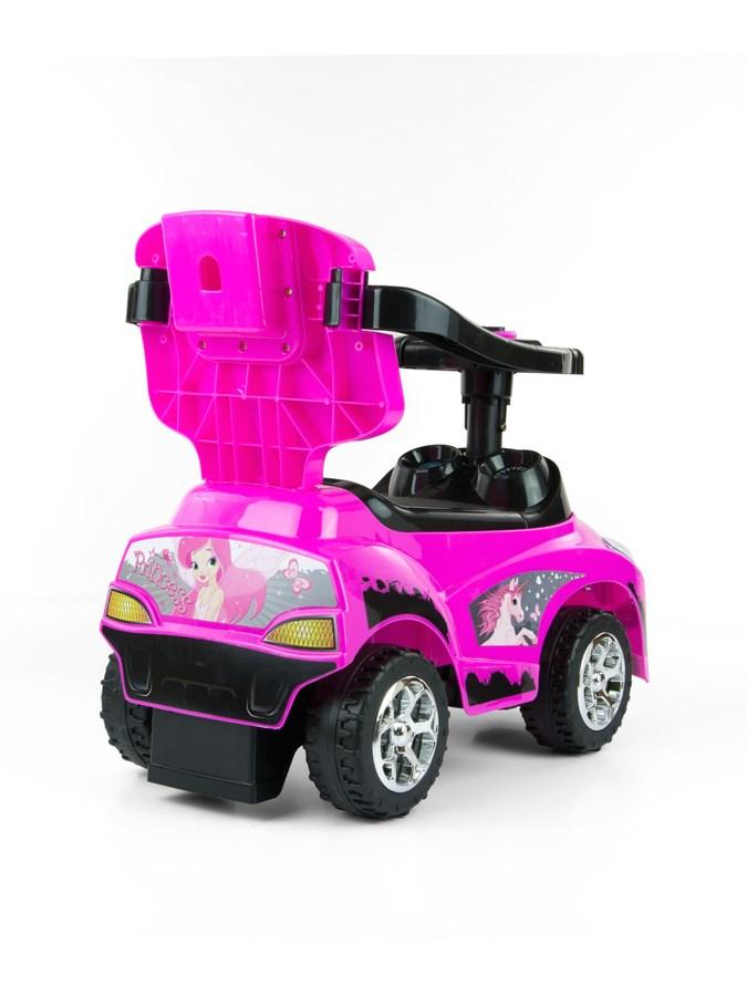 Detské jezdítko 2v1 Milly Mally Happy pink