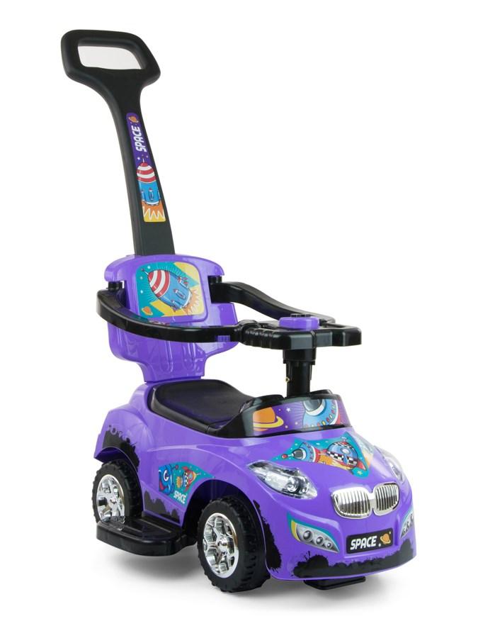 Detské vozítko 2v1 Milly Mally Happy purple