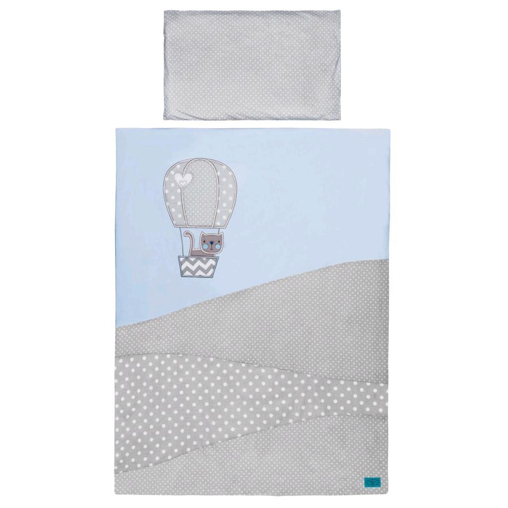 6-dielne posteľné obliečky Belisima Balón 90/120 modré