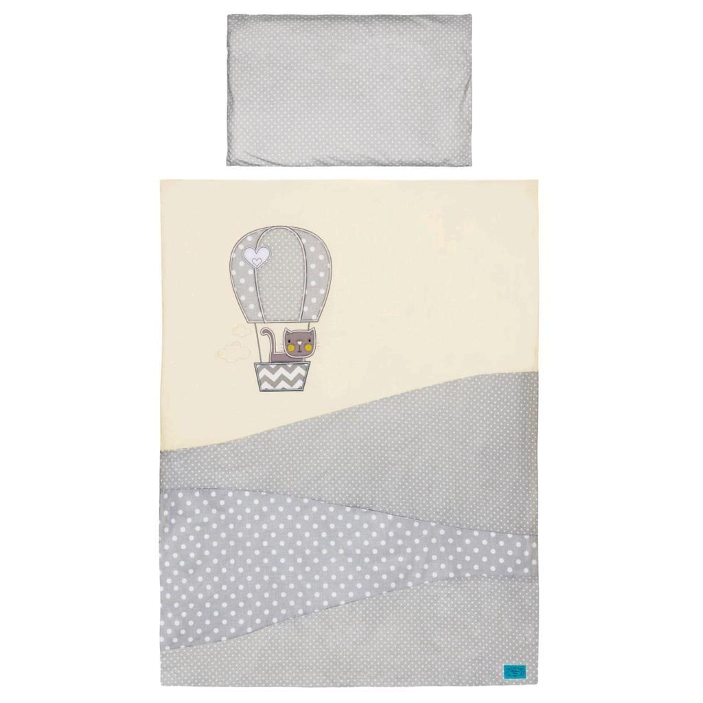 6-dielne posteľné obliečky Belisima Balón 100x135 bežové