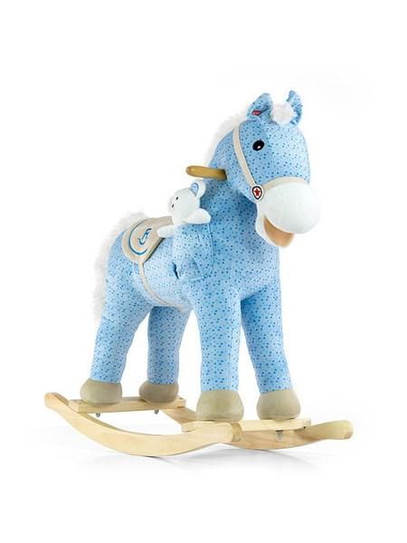 Hojdací koník Milly Mally Pony modrý