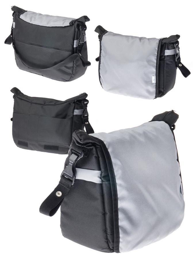 Taška na kočík CARETERO - black
